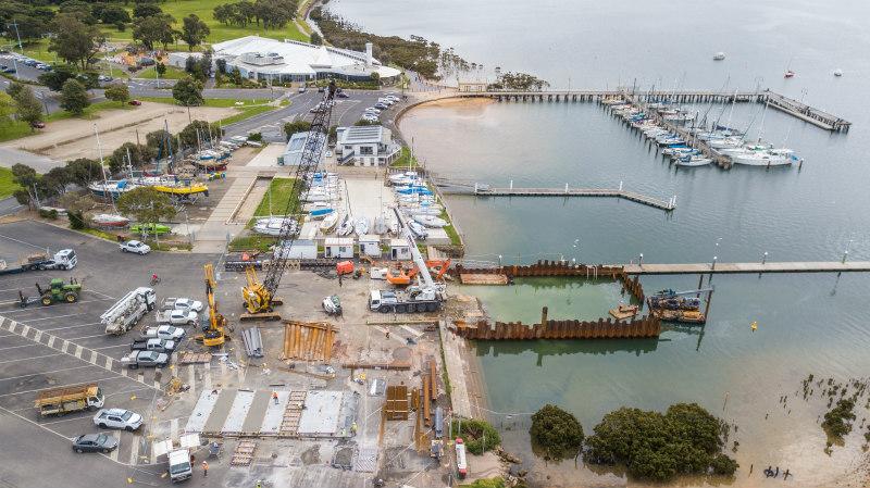 Hastings Boat Ramp Formwork rebuild October 2020